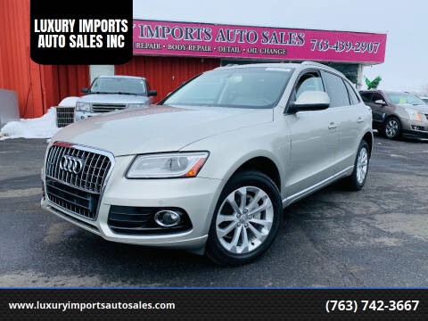 2014 Audi Q5 for sale at LUXURY IMPORTS AUTO SALES INC in North Branch MN