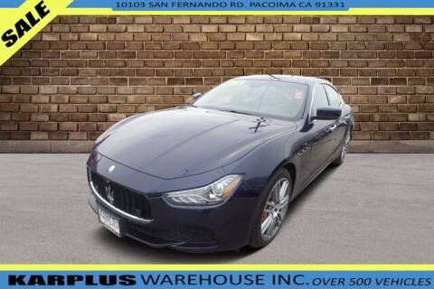 2016 Maserati Ghibli for sale at Karplus Warehouse in Pacoima CA