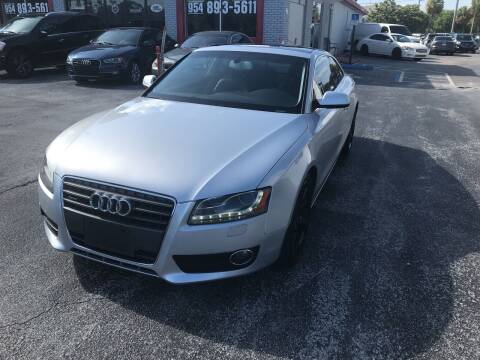 2012 Audi A5 for sale at CARSTRADA in Hollywood FL