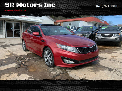 2011 Kia Optima for sale at SR Motors Inc in Gainesville GA