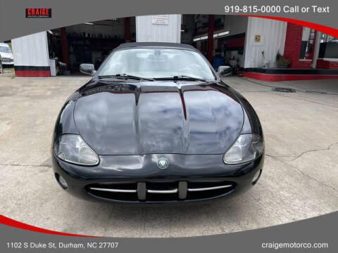 2003 Jaguar XK-Series for sale at CRAIGE MOTOR CO in Durham NC