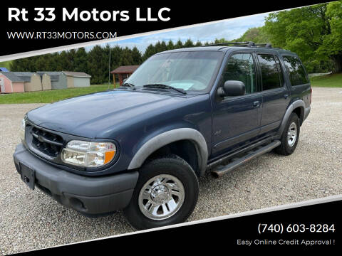 2000 Ford Explorer for sale at Rt 33 Motors LLC in Rockbridge OH