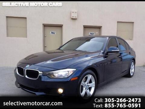 2015 BMW 3 Series for sale at Selective Motor Cars in Miami FL