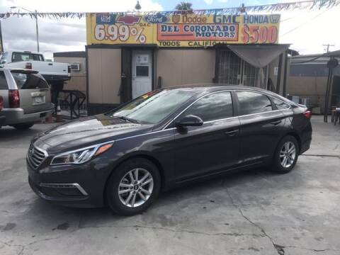 2015 Hyundai Sonata for sale at DEL CORONADO MOTORS in Phoenix AZ