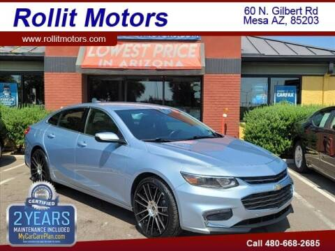 2017 Chevrolet Malibu for sale at Rollit Motors in Mesa AZ