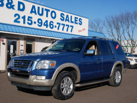 2009 Ford Explorer for sale at B & D Auto Sales Inc. in Fairless Hills PA