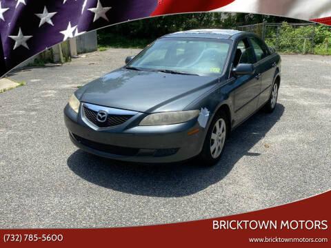 2005 Mazda MAZDA6 for sale at Bricktown Motors in Brick NJ