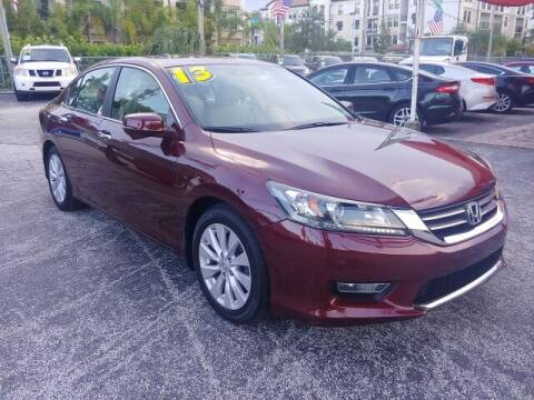 2013 Honda Accord for sale at Brascar Auto Sales in Pompano Beach FL