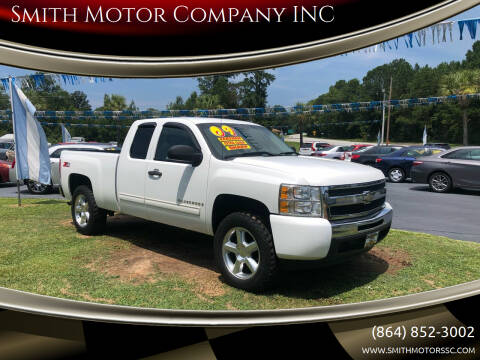 2009 Chevrolet Silverado 1500 for sale at Smith Motor Company INC in Mc Cormick SC