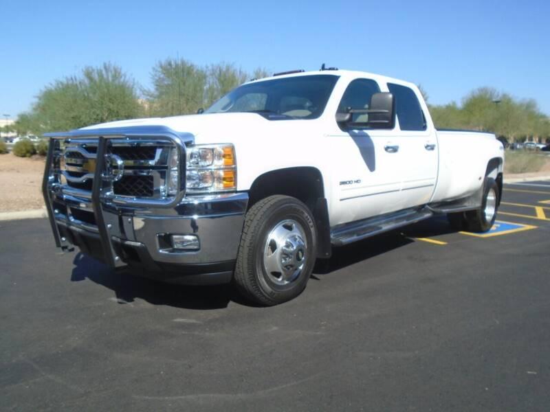 2012 Chevrolet Silverado 3500HD for sale at COPPER STATE MOTORSPORTS in Phoenix AZ