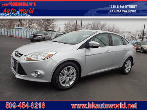 2012 Ford Focus for sale at Bruce Kirkham Auto World in Yakima WA