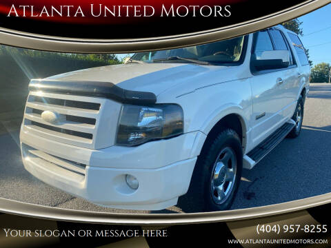 2008 Ford Expedition for sale at Atlanta United Motors in Buford GA