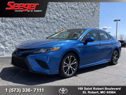 2020 Toyota Camry for sale at SEEGER TOYOTA OF ST ROBERT in St Robert MO
