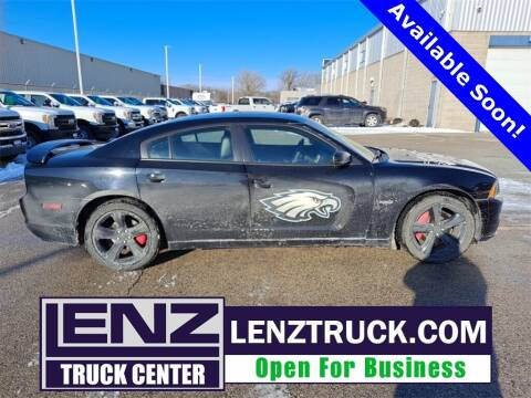 2013 Dodge Charger for sale at LENZ TRUCK CENTER in Fond Du Lac WI