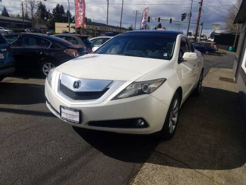 2010 Acura ZDX for sale at Bonney Lake Used Cars in Puyallup WA
