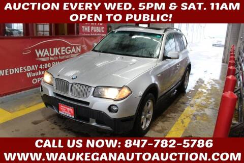 2007 BMW X3 for sale at Waukegan Auto Auction in Waukegan IL