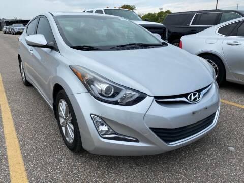 2015 Hyundai Elantra for sale at KAYALAR MOTORS in Houston TX