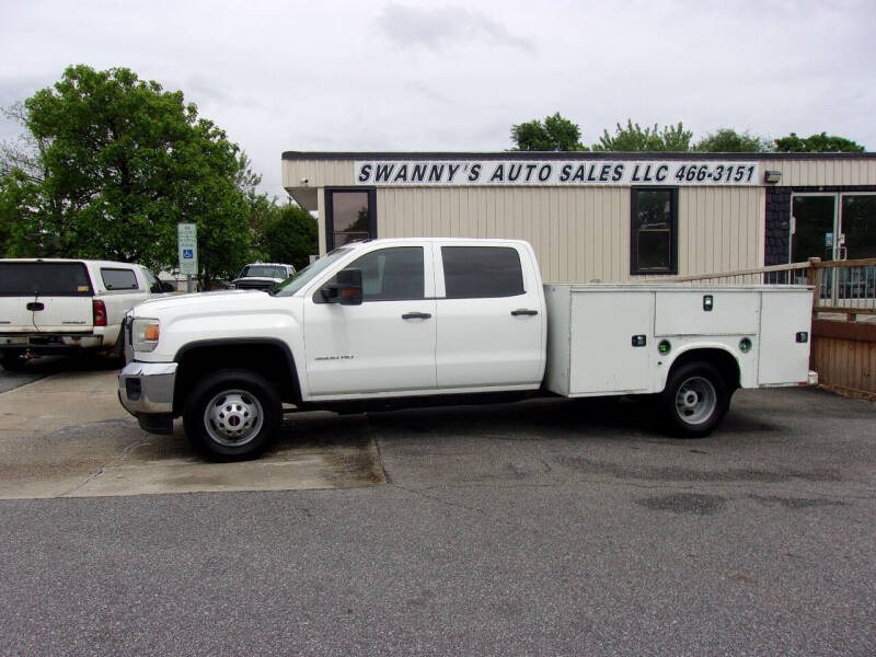 2015 GMC Sierra 3500HD CC for sale at Swanny's Auto Sales in Newton NC