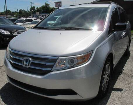 2013 Honda Odyssey for sale at Express Auto Sales in Lexington KY