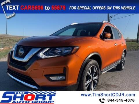 2018 Nissan Rogue for sale at Tim Short Chrysler in Morehead KY