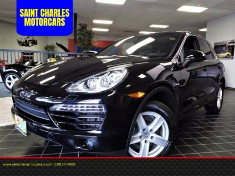 2013 Porsche Cayenne for sale at SAINT CHARLES MOTORCARS in Saint Charles IL