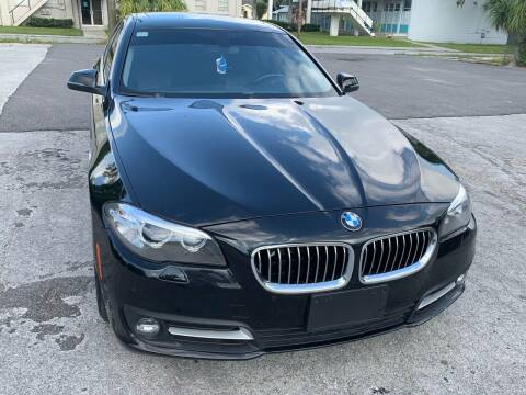 2016 BMW 5 Series for sale at Consumer Auto Credit in Tampa FL