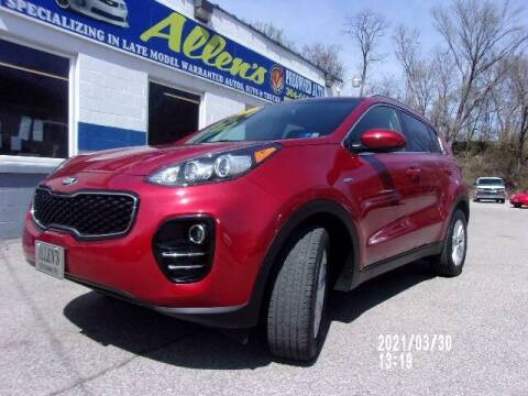 2018 Kia Sportage for sale at Allen's Pre-Owned Autos in Pennsboro WV
