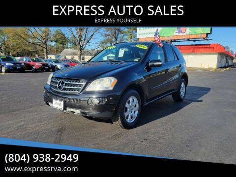 2007 Mercedes-Benz M-Class for sale at EXPRESS AUTO SALES in Midlothian VA