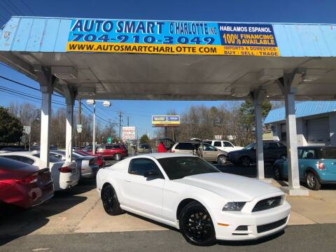 2014 Ford Mustang for sale at Auto Smart Charlotte in Charlotte NC