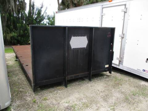 2011 ALL STEEL FLATBED 22FT for sale at DEBARY TRUCK SALES in Sanford FL