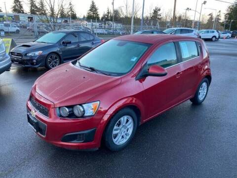 2013 Chevrolet Sonic for sale at TacomaAutoLoans.com in Tacoma WA