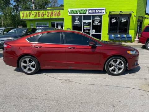 2014 Ford Fusion for sale at Empire Auto Group in Indianapolis IN