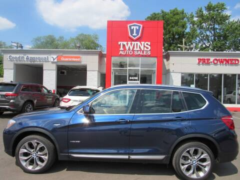 2017 BMW X3 for sale at Twins Auto Sales Inc - Detroit in Detroit MI
