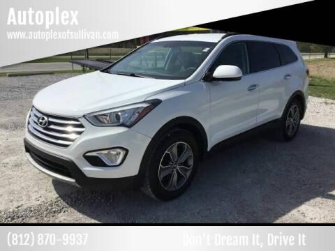 2016 Hyundai Santa Fe for sale at Autoplex in Sullivan IN