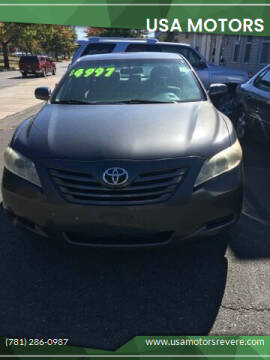 2007 Toyota Camry for sale at USA Motors in Revere MA