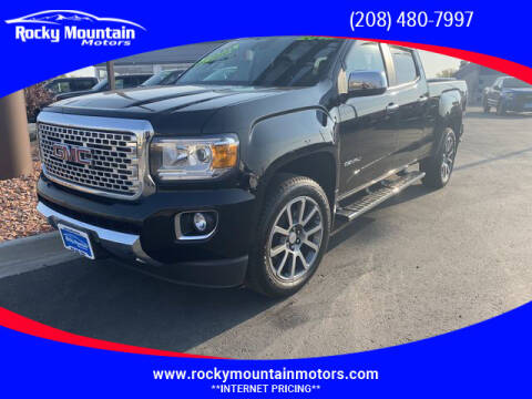2019 GMC Canyon for sale at Rocky Mountain Motors in Idaho Falls ID