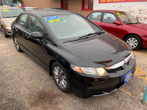 2009 Honda Civic for sale at 5 Stars Auto Service and Sales in Chicago IL