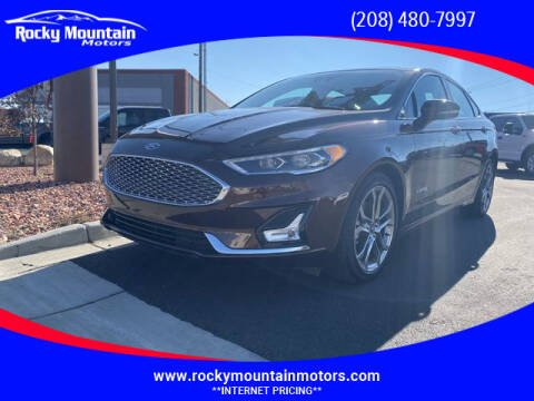 2019 Ford Fusion Hybrid for sale at Rocky Mountain Motors in Idaho Falls ID
