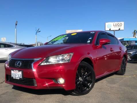 2013 Lexus GS 350 for sale at LUGO AUTO GROUP in Sacramento CA