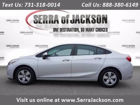 2018 Chevrolet Cruze for sale at Serra Of Jackson in Jackson TN