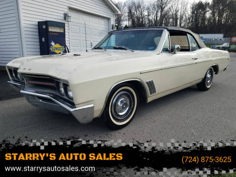 1967 Buick Skylark GS 400 Convertible for sale at STARRY'S AUTO SALES in New Alexandria PA