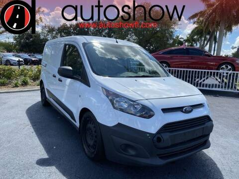 2017 Ford Transit Connect Cargo for sale at AUTOSHOW SALES & SERVICE in Plantation FL