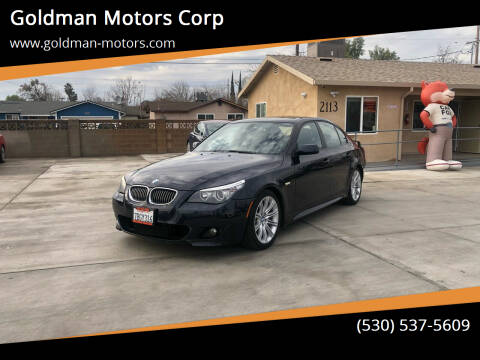 2010 BMW 5 Series for sale at Goldman Motors Corp in Stockton CA