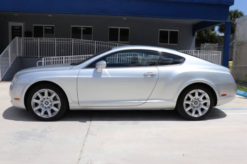 2004 Bentley Continental for sale at PERFORMANCE AUTO WHOLESALERS in Miami FL
