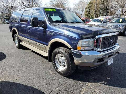 2002 Ford Excursion for sale at Stach Auto in Janesville WI