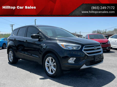 2017 Ford Escape for sale at Hilltop Car Sales in Knox TN