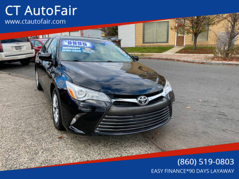 2016 Toyota Camry for sale at CT AutoFair in West Hartford CT
