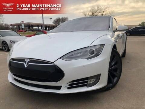 2015 Tesla Model S for sale at European Motors Inc in Plano TX
