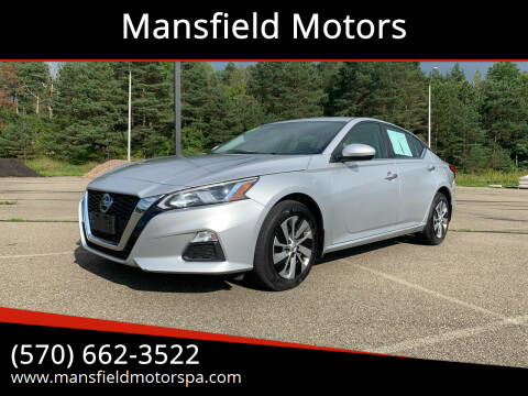 2019 Nissan Altima for sale at Mansfield Motors in Mansfield PA
