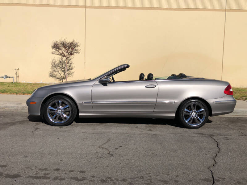 2007 Mercedes-Benz CLK for sale at HIGH-LINE MOTOR SPORTS in Brea CA